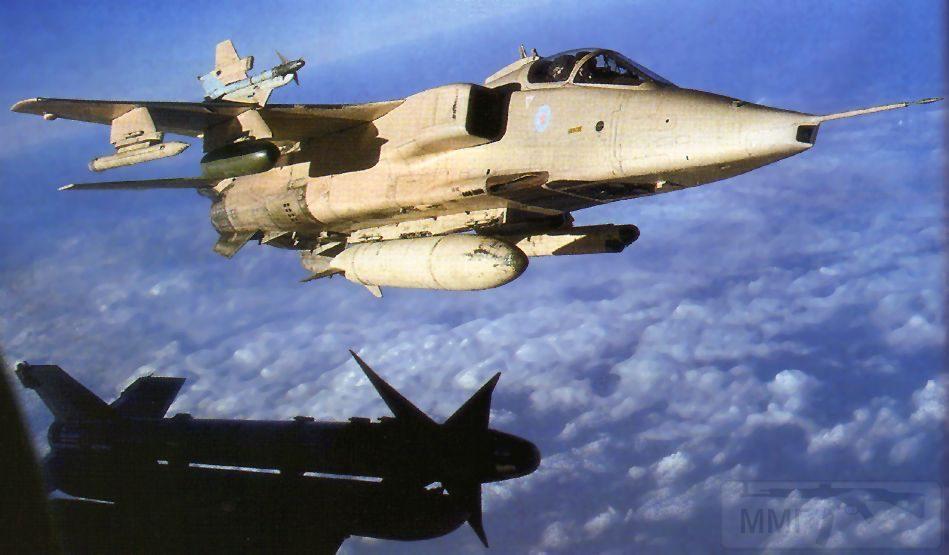 """8740 - Британские самолеты Jaguar GR-1A в операции """"Буря в пустыне"""" 1991 г."""