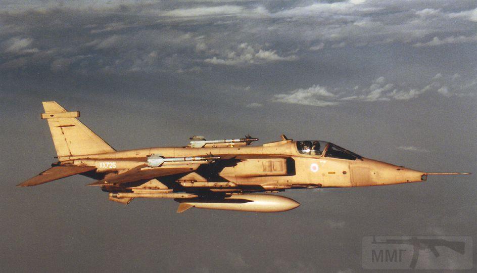 """8741 - Британские самолеты Jaguar GR-1A в операции """"Буря в пустыне"""" 1991 г."""