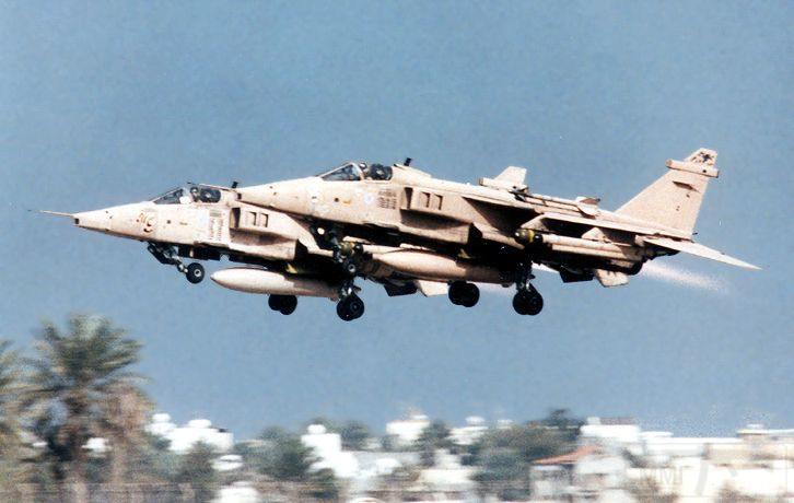 """8746 - Британские самолеты Jaguar GR-1A в операции """"Буря в пустыне"""" 1991 г."""