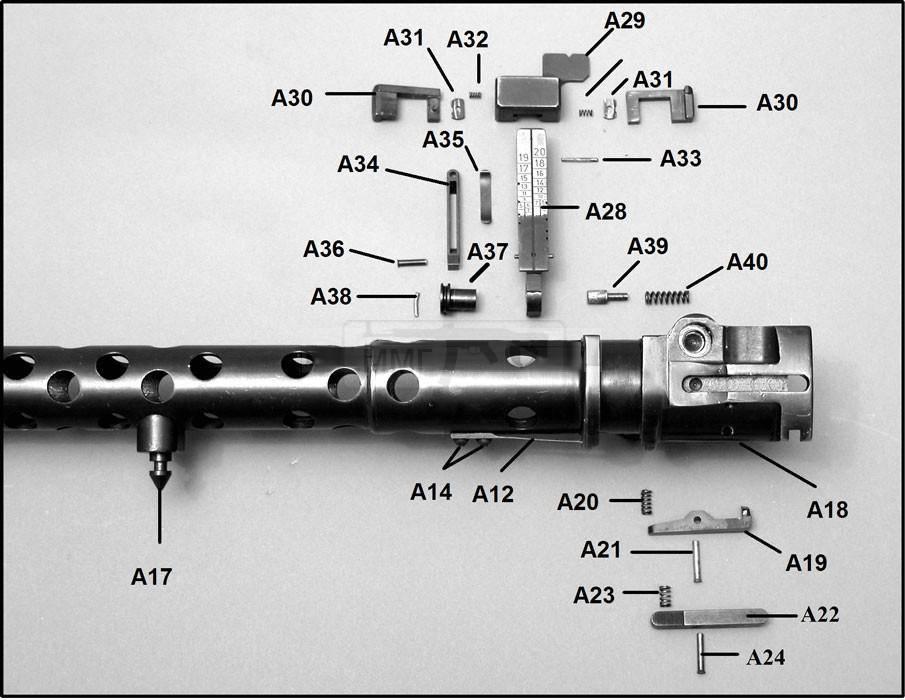 875 - Все о пулемете MG-34 - история, модификации, клейма и т.д.