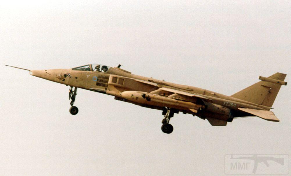 """8750 - Британские самолеты Jaguar GR-1A в операции """"Буря в пустыне"""" 1991 г."""