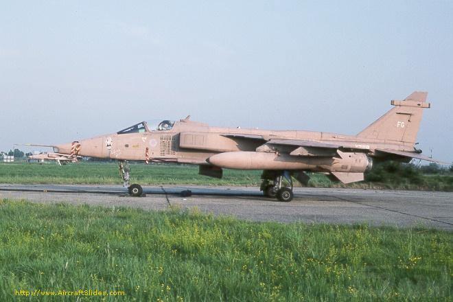 """8753 - Британские самолеты Jaguar GR-1A в операции """"Буря в пустыне"""" 1991 г."""