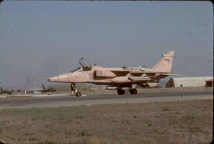"""8754 - Британские самолеты Jaguar GR-1A в операции """"Буря в пустыне"""" 1991 г."""