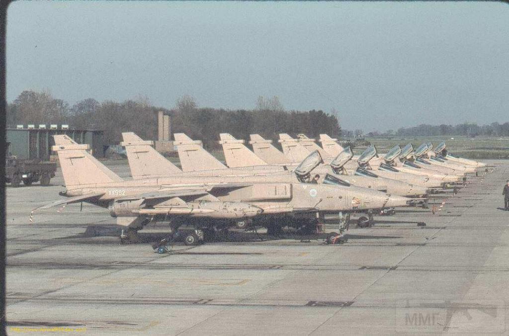"""8755 - Британские самолеты Jaguar GR-1A в операции """"Буря в пустыне"""" 1991 г."""
