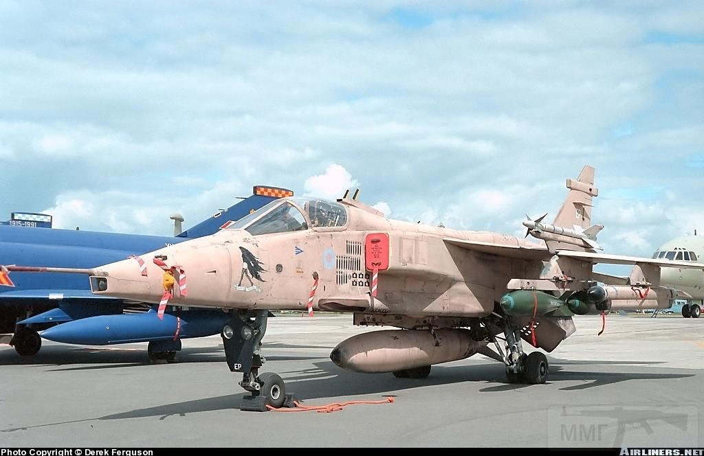 """8757 - Британские самолеты Jaguar GR-1A в операции """"Буря в пустыне"""" 1991 г."""