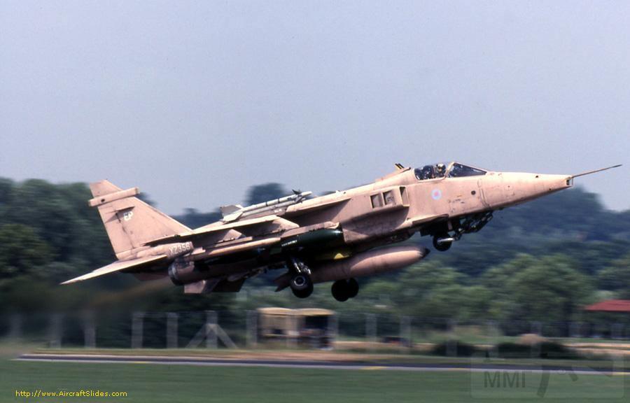 """8760 - Британские самолеты Jaguar GR-1A в операции """"Буря в пустыне"""" 1991 г."""