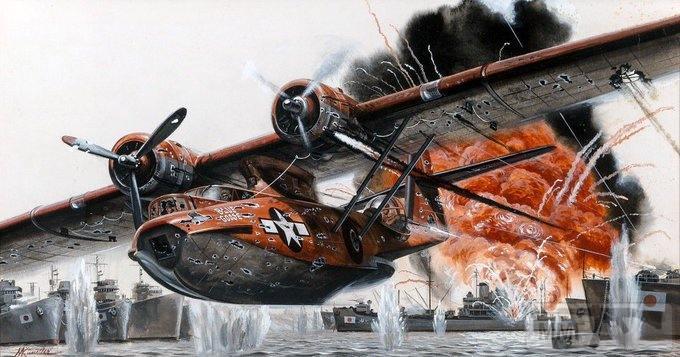 87795 - Художественные картины на авиационную тематику