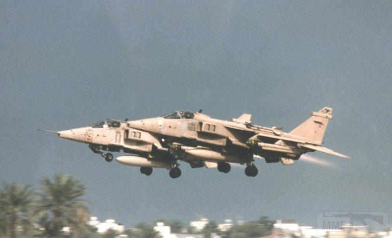 """8781 - Британские самолеты Jaguar GR-1A в операции """"Буря в пустыне"""" 1991 г."""