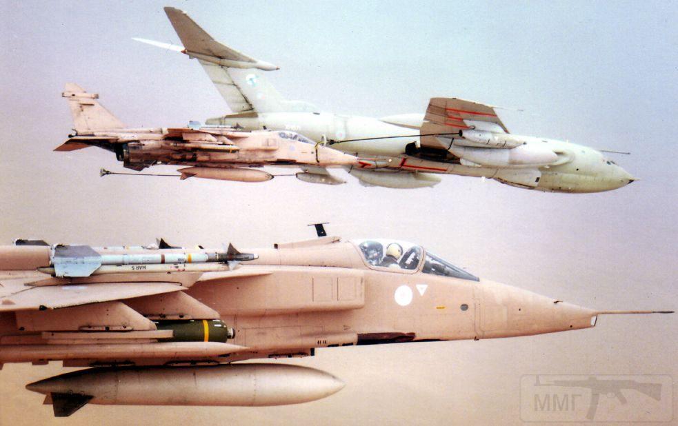 """8782 - Британские самолеты Jaguar GR-1A в операции """"Буря в пустыне"""" 1991 г."""