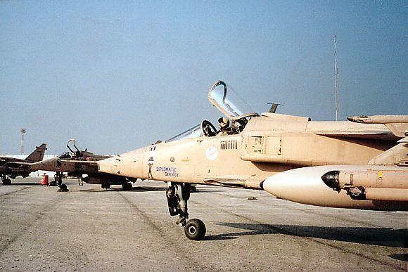 """8784 - Британские самолеты Jaguar GR-1A в операции """"Буря в пустыне"""" 1991 г."""