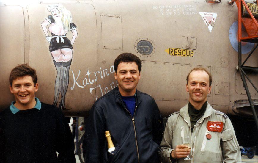 """8802 - Британские самолеты Jaguar GR-1A в операции """"Буря в пустыне"""" 1991 г."""