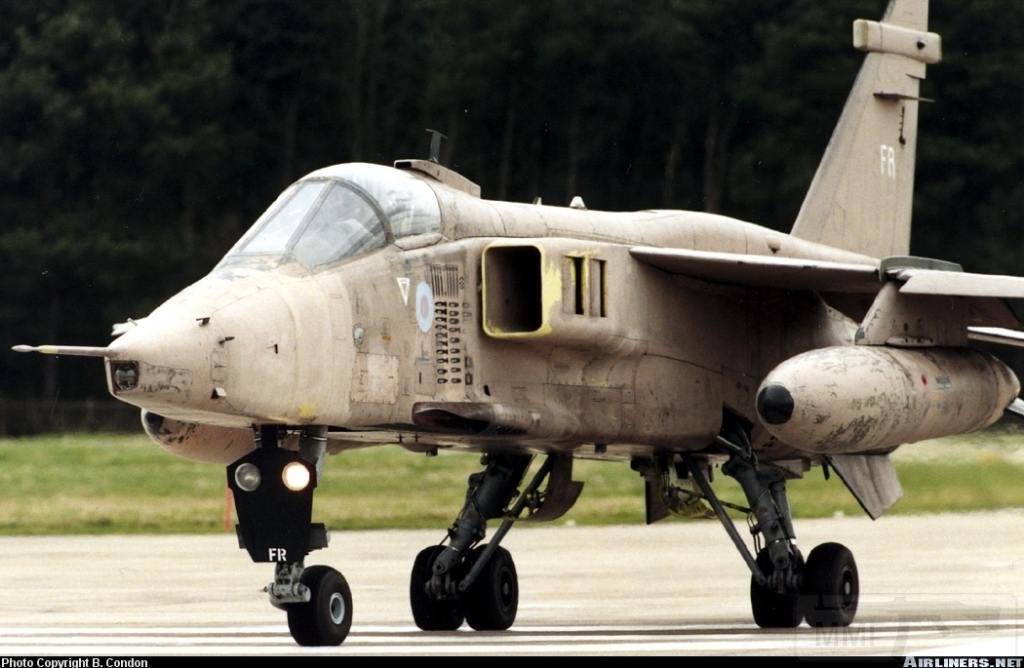 """8816 - Британские самолеты Jaguar GR-1A в операции """"Буря в пустыне"""" 1991 г."""