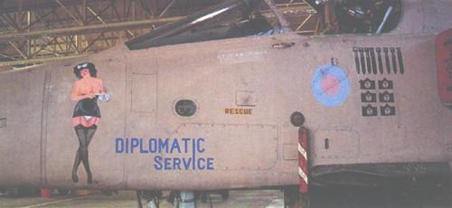 """8819 - Британские самолеты Jaguar GR-1A в операции """"Буря в пустыне"""" 1991 г."""