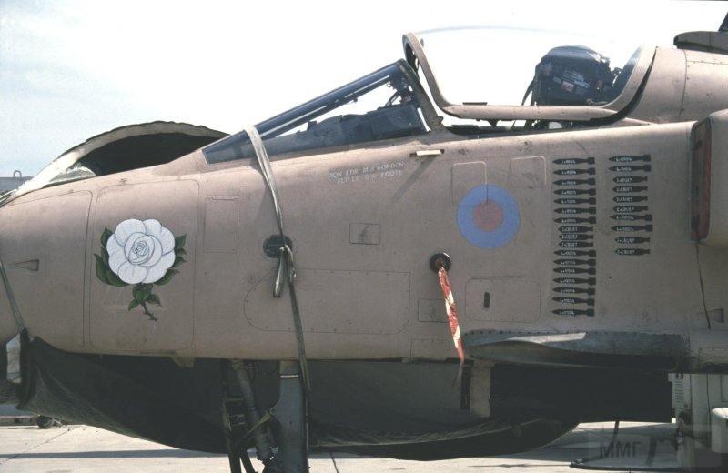 """8824 - Британские самолеты Jaguar GR-1A в операции """"Буря в пустыне"""" 1991 г."""