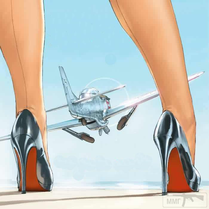 88278 - Художественные картины на авиационную тематику