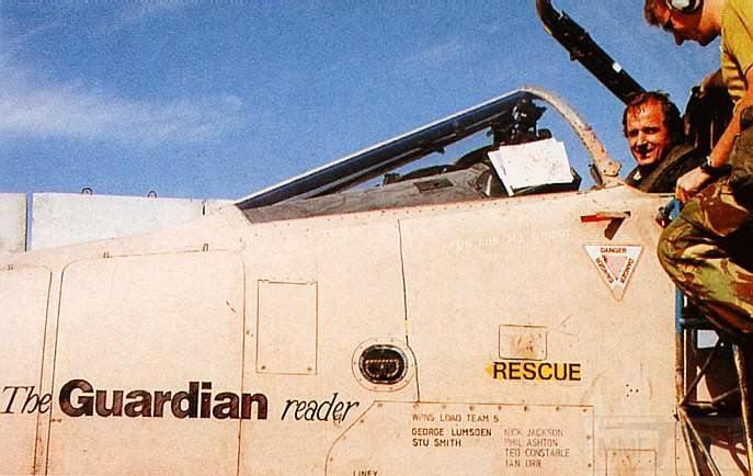 """8828 - Британские самолеты Jaguar GR-1A в операции """"Буря в пустыне"""" 1991 г."""