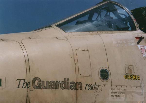 """8829 - Британские самолеты Jaguar GR-1A в операции """"Буря в пустыне"""" 1991 г."""
