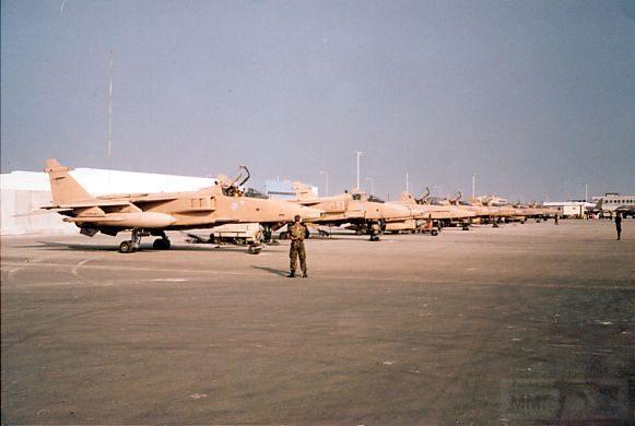 """8832 - Британские самолеты Jaguar GR-1A в операции """"Буря в пустыне"""" 1991 г."""