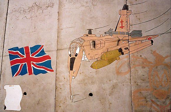 """8833 - Британские самолеты Jaguar GR-1A в операции """"Буря в пустыне"""" 1991 г."""