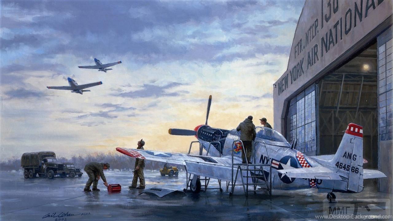88515 - Художественные картины на авиационную тематику