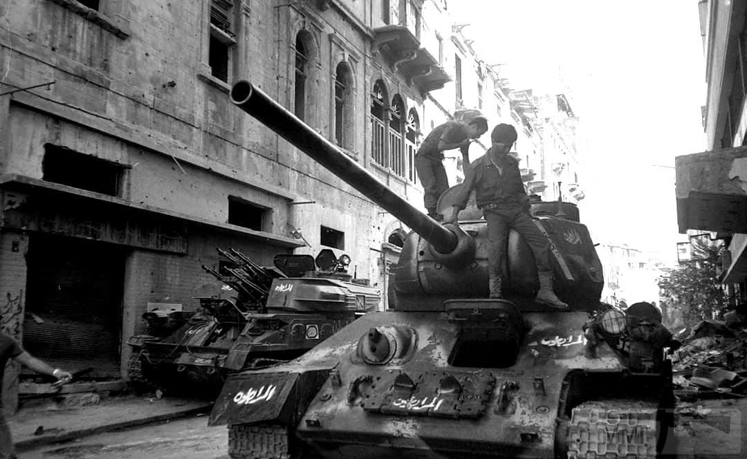 88914 - Послевоенное использование советской бронетехники WW2