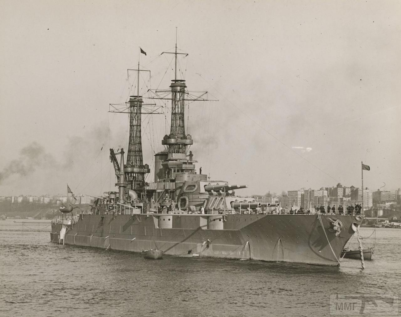 89529 - USS Mississippi (BB-41)