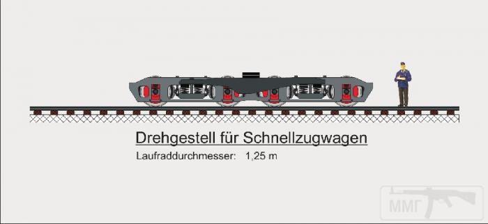 9026 - Колёсная тележка для вагонов нового типа