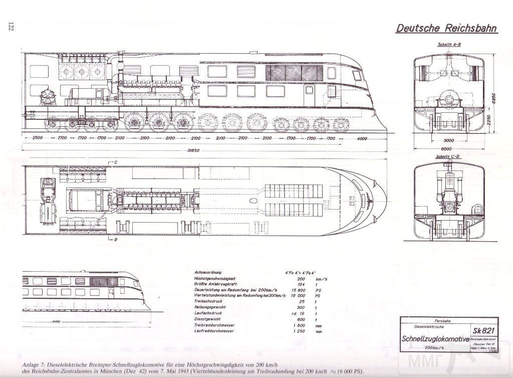 9032 - Поезда и вагоны Третьего Рейха