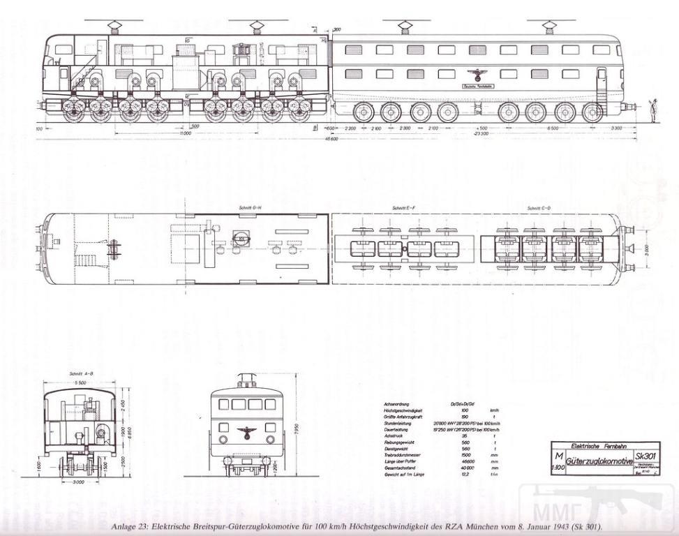 9043 - Поезда и вагоны Третьего Рейха