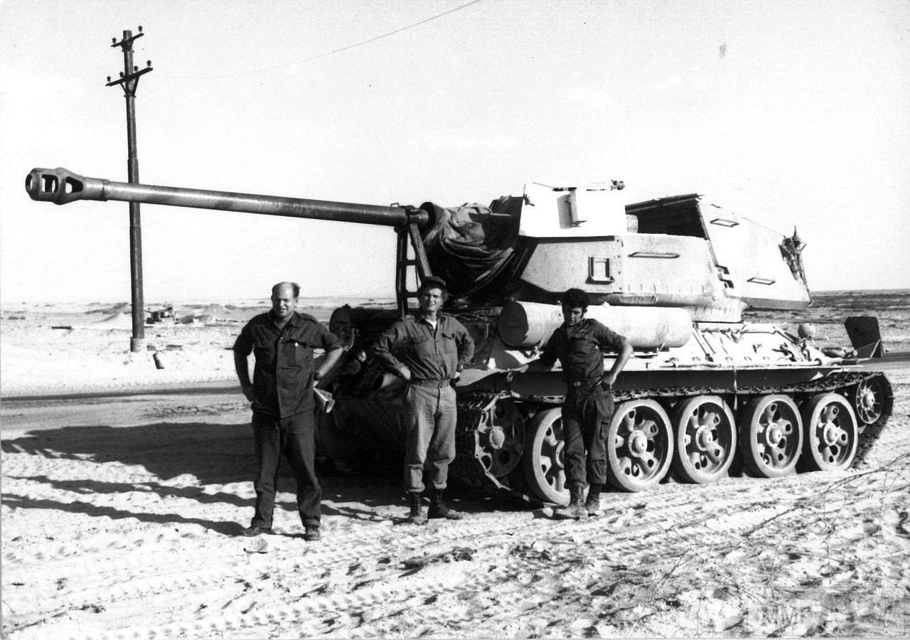 90430 - Послевоенное использование советской бронетехники WW2