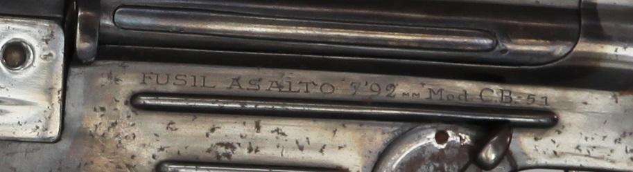 9137 - Fusil Asalto CB-51, in 7.92x33mm
