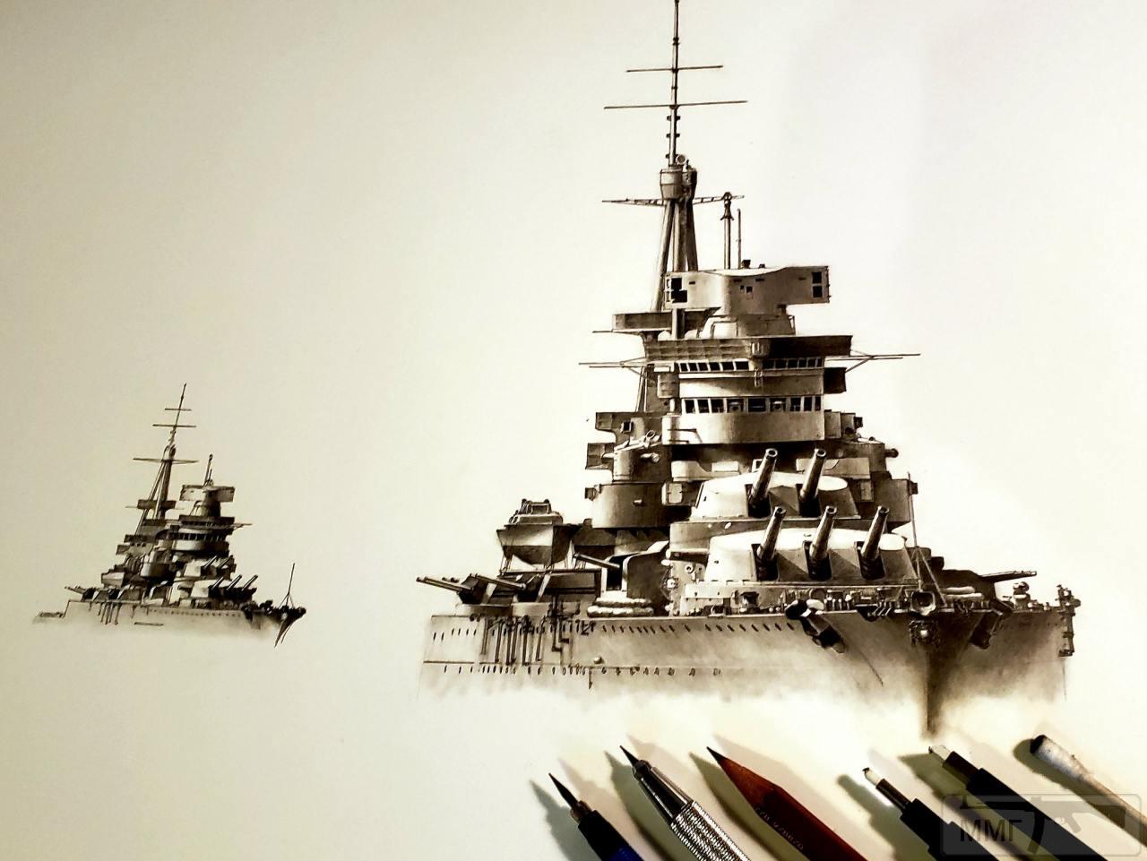 91376 - Regia Marina - Italian Battleships Littorio Class и другие...