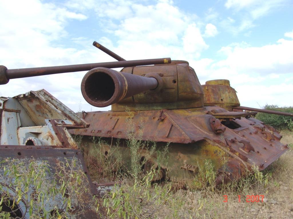 9157 - Послевоенное использование советской бронетехники WW2