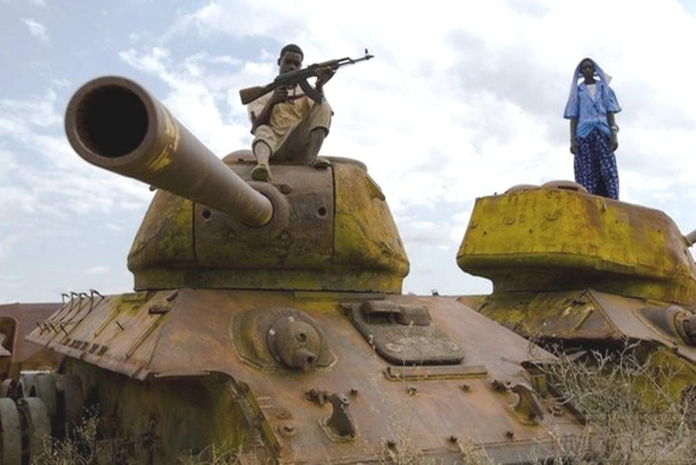 9159 - Послевоенное использование советской бронетехники WW2