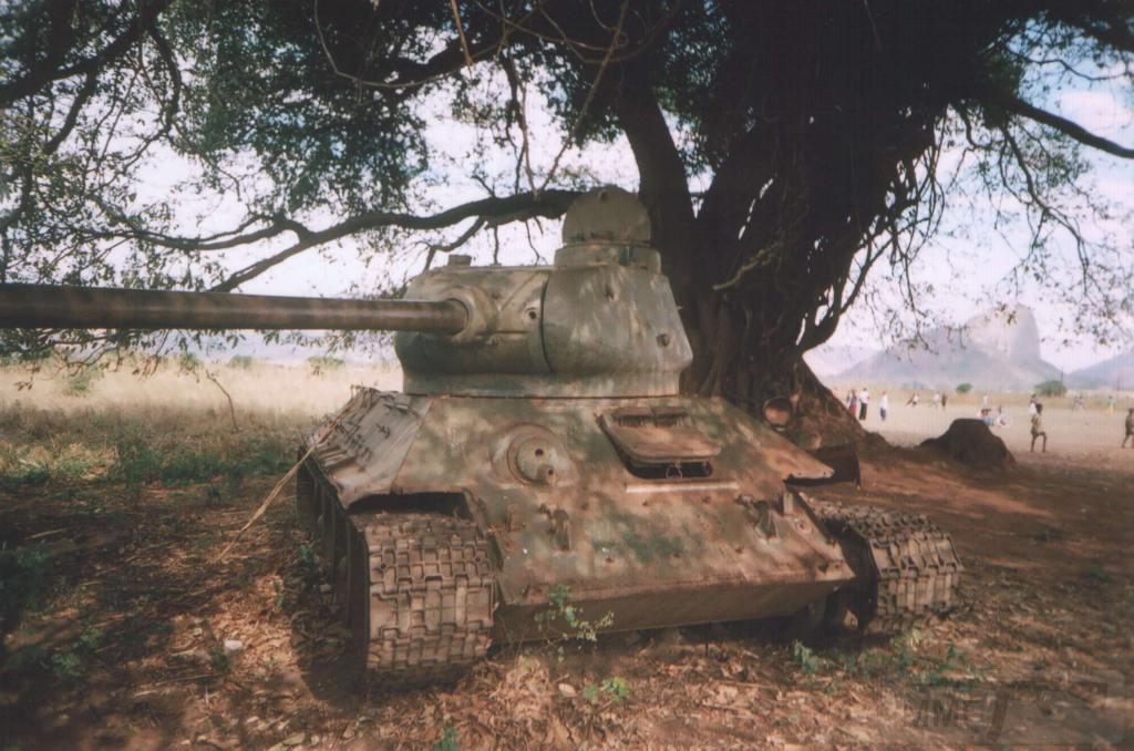 9162 - Послевоенное использование советской бронетехники WW2