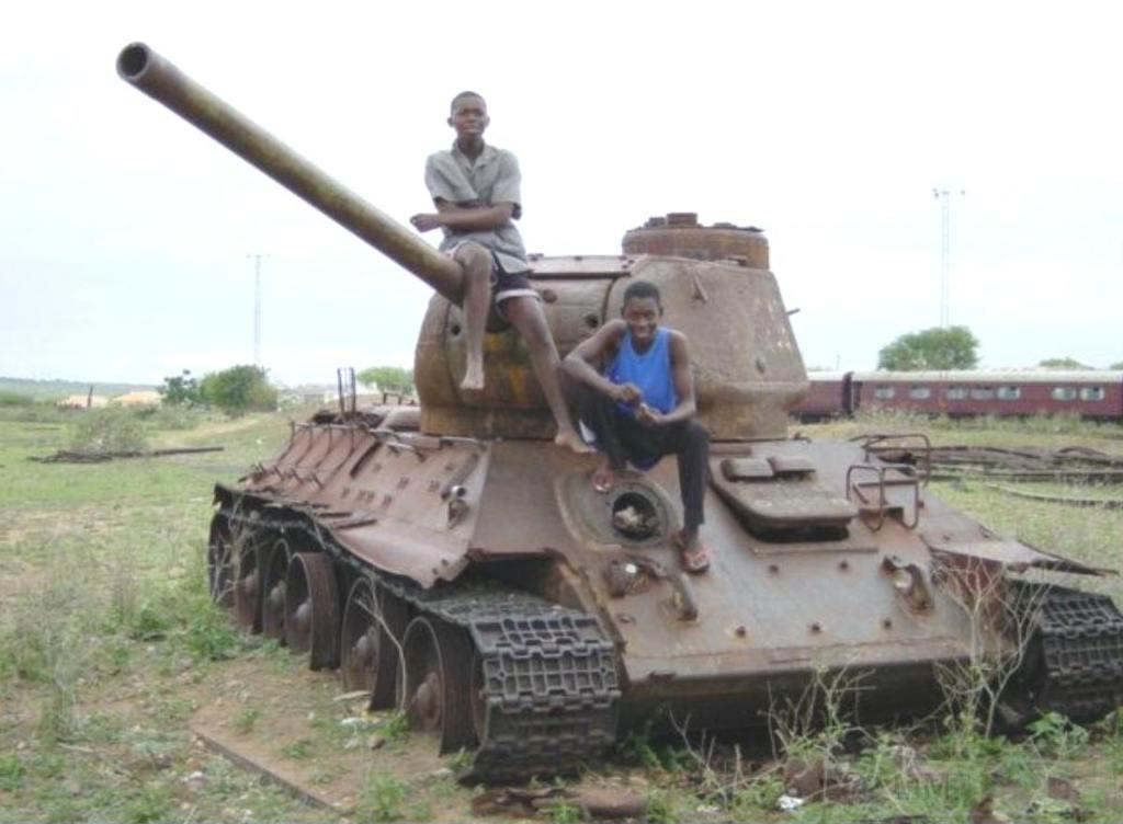 9163 - Послевоенное использование советской бронетехники WW2