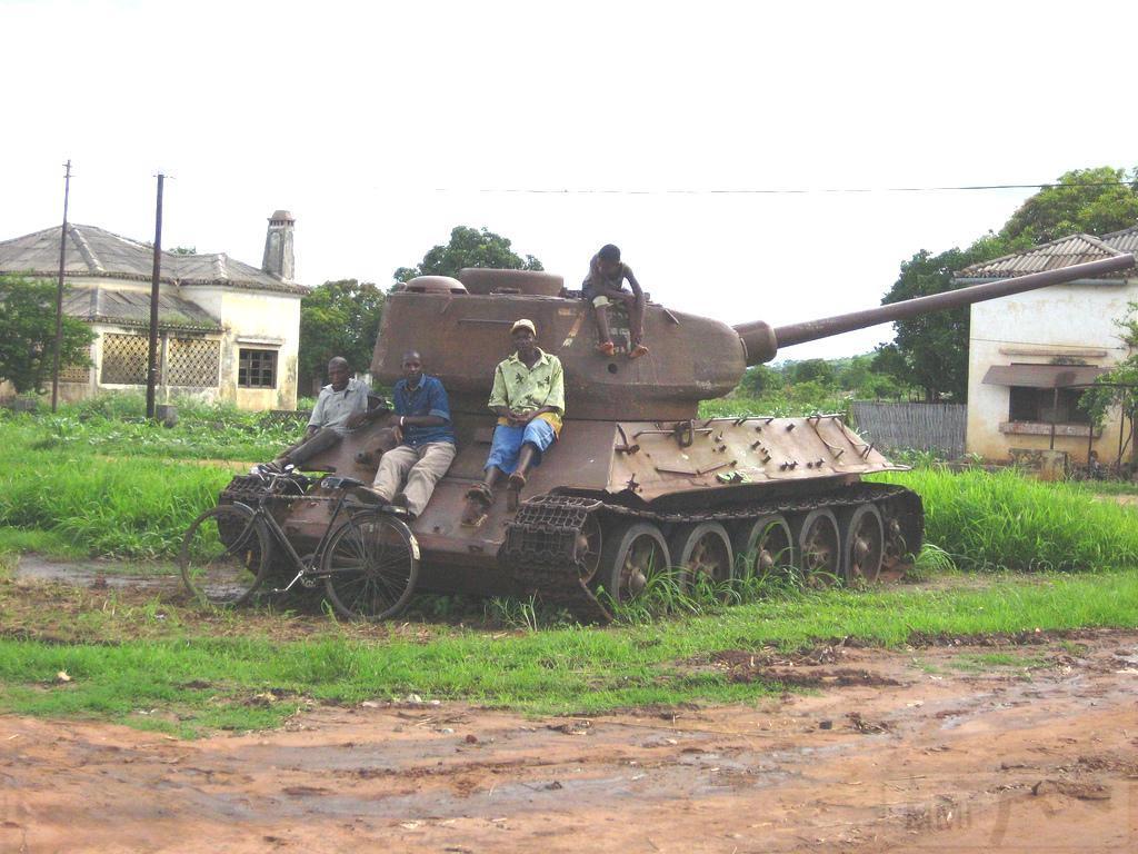 9166 - Послевоенное использование советской бронетехники WW2