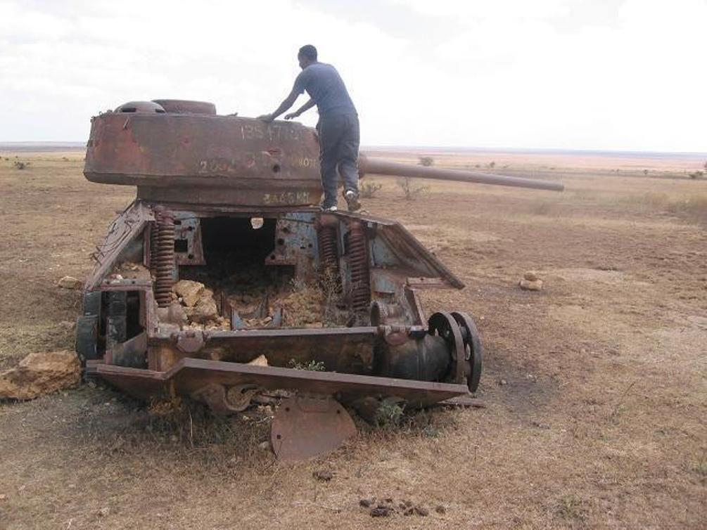 9167 - Послевоенное использование советской бронетехники WW2
