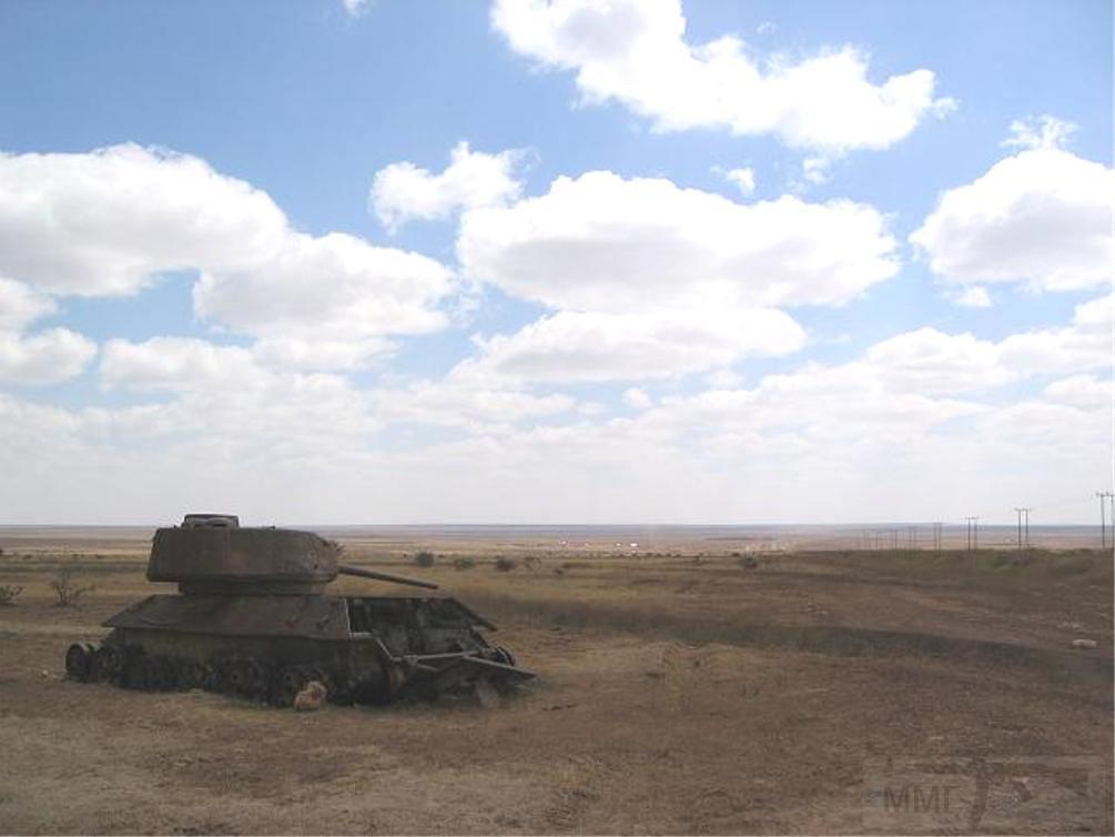 9168 - Послевоенное использование советской бронетехники WW2