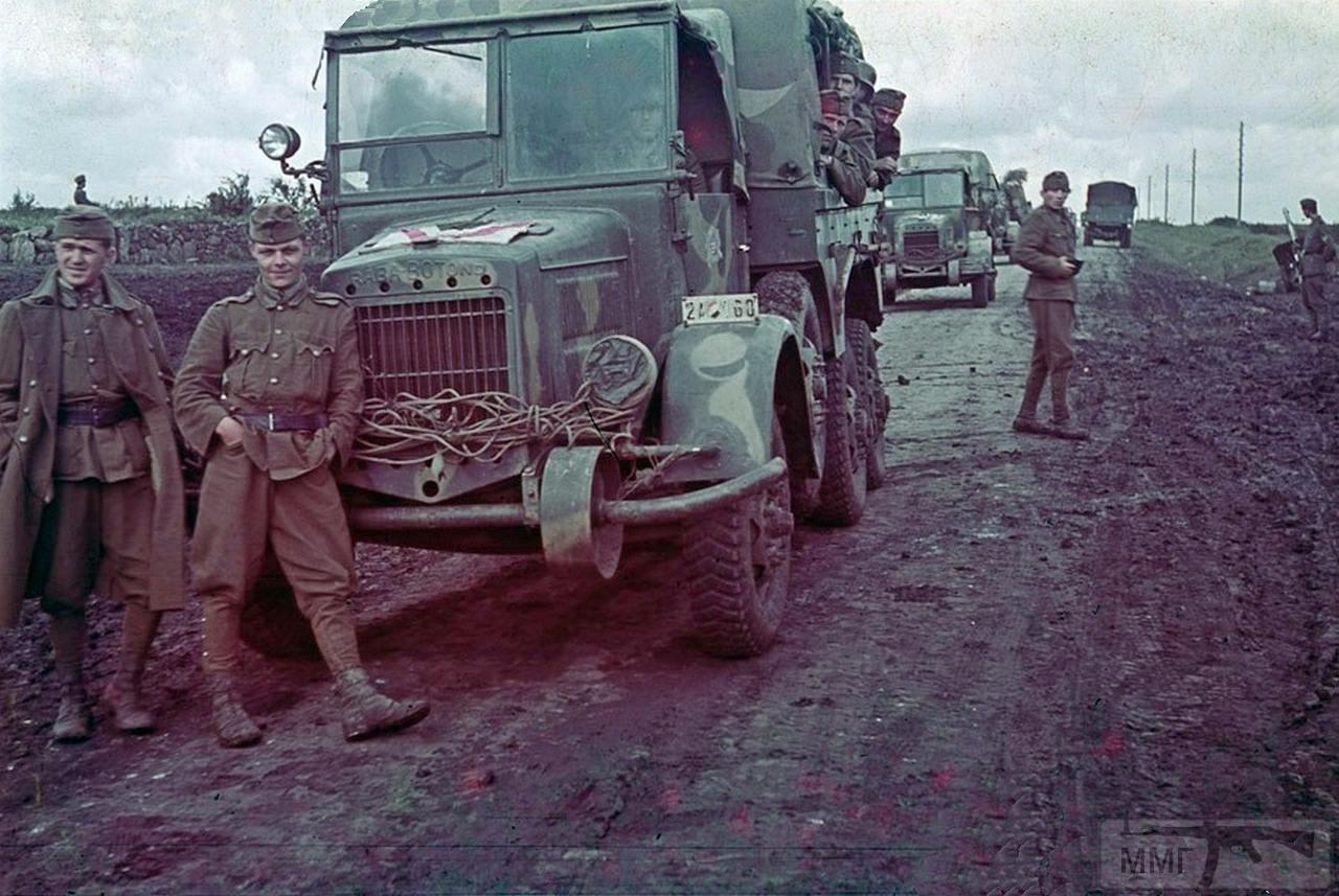 91988 - Военный транспорт союзников Германии во Второй мировой