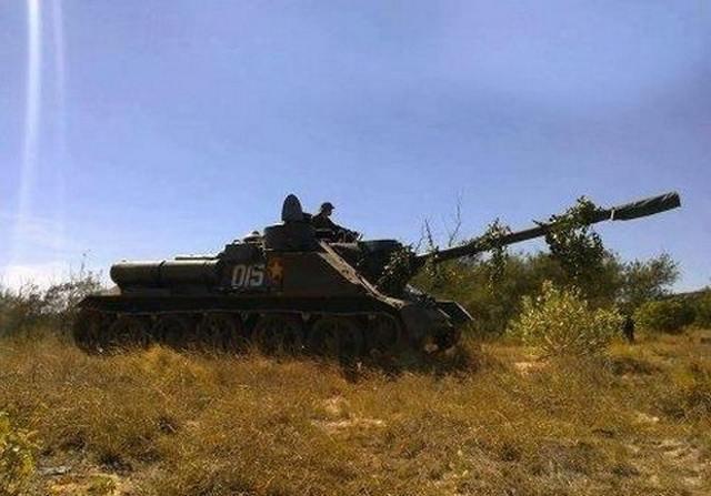 9207 - Послевоенное использование советской бронетехники WW2