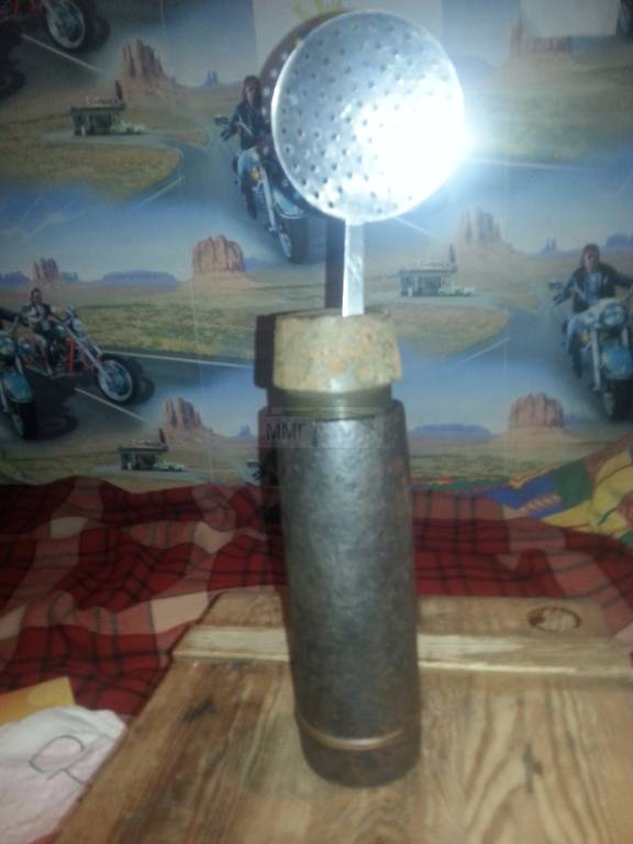 924 - ММГ снаряд 7,5 см.Немец