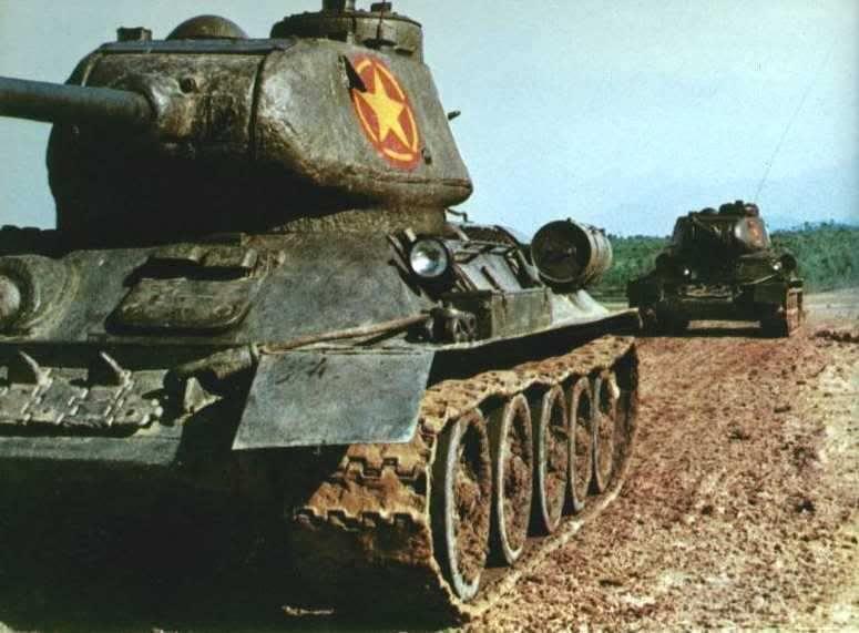 9270 - Послевоенное использование советской бронетехники WW2