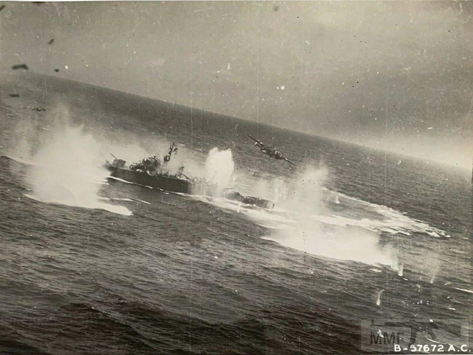 93042 - Военное фото 1941-1945 г.г. Тихий океан.
