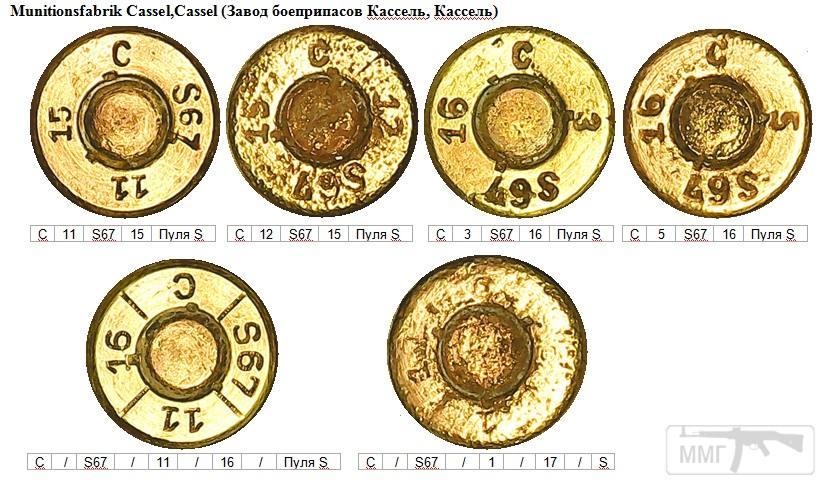 93159 - Патрон 7,92x57 «Маузер» - виды, маркировка, история