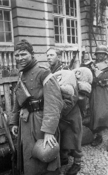93541 - Военное фото 1941-1945 г.г. Восточный фронт.