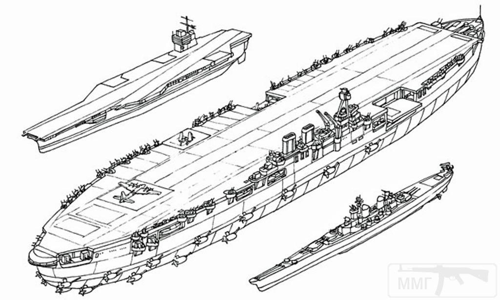 9540 - Два авианосца