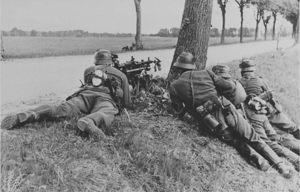 9611 - Все о пулемете MG-34 - история, модификации, клейма и т.д.