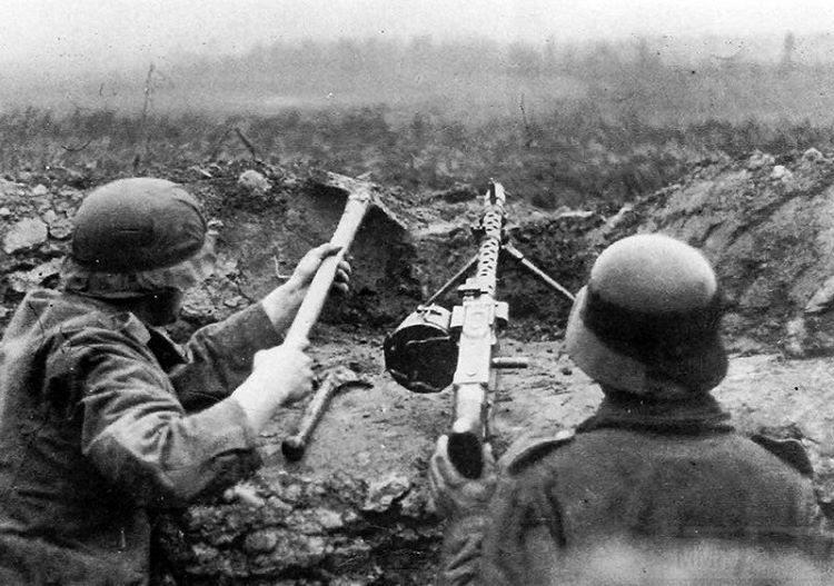9642 - Все о пулемете MG-34 - история, модификации, клейма и т.д.