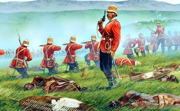 96978 - Война британцев с зулусами